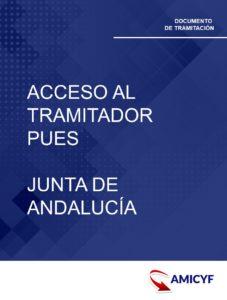 2. ACCESO AL TRAMITADOR PUES - JUNTA DE ANDALUCÍA