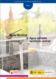 Guía Técnica Agua Caliente Sanitaria Central.